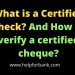 What is a Certified Check